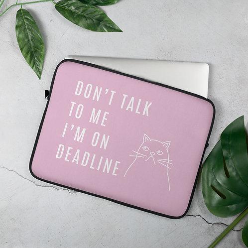 Deadline Laptop Sleeve