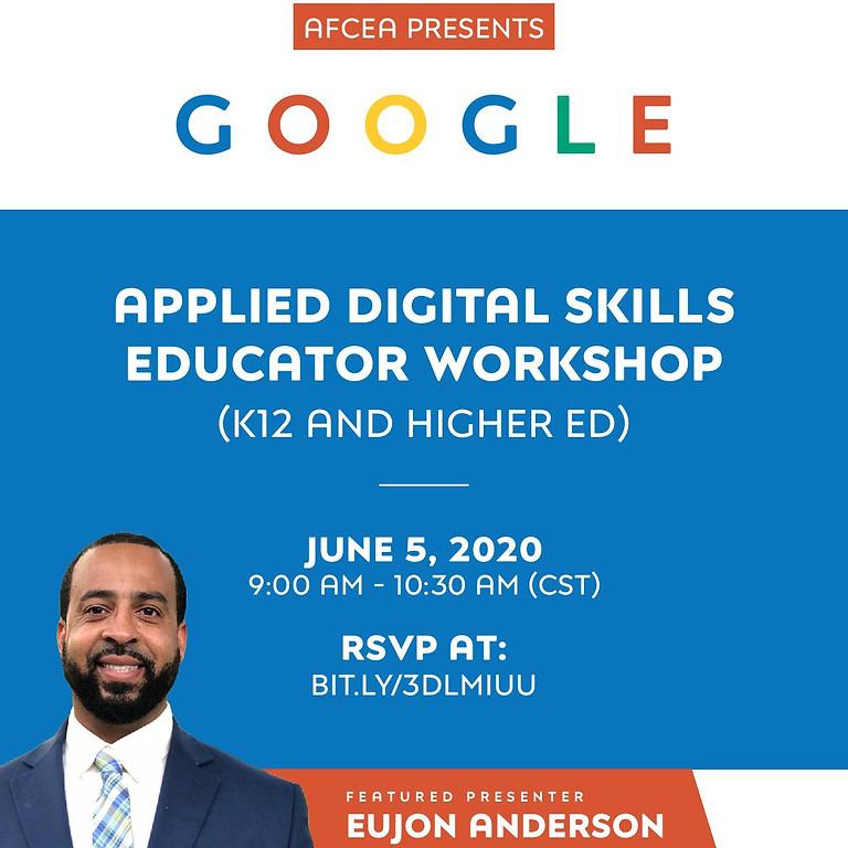 Virtual Google Applied Digital Skills