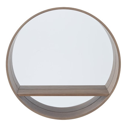 Espejo con estante