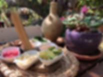 בטבע של בני בצל התאנה מסעדה טבעונית