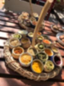 בטבע של בני בצל התאנה מסעדה צמחונית