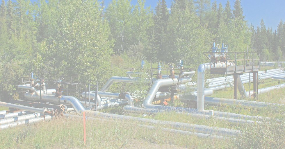 pipeline in remote area