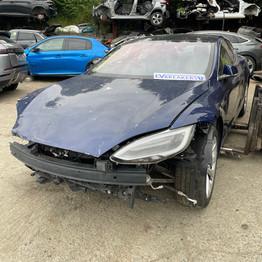 Tesla Model S Electric Vehicle Breaking Parts