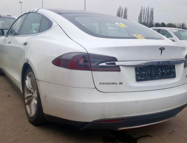 Tesla Model S 12-15 Electric Vehicle Breaking Parts