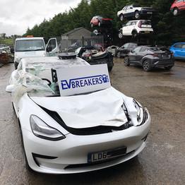 Tesla Model 3 Standard Range Plus Electric Vehicle Breaking Parts Spares EV Breakers