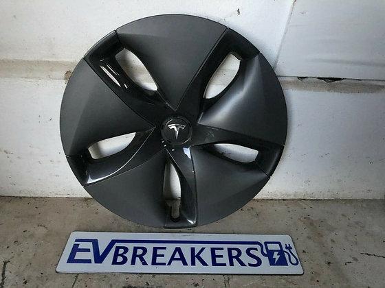 "Tesla Model 3 Wheel Trim Cover Aero Hub Cap 18"" 1044231-99-B"
