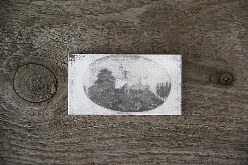 ZAMEK CHOJNIK - płytka ceramiczna 7,2 x 3,8 cm