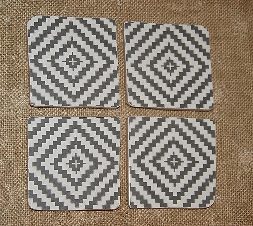 Podkładka ceramiczna pod kubek  / 9,5 x 9,5 cm