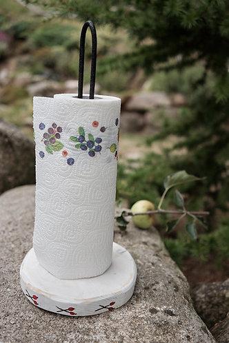 stojak na ręcznik papierowy - MOTYW LUDOWY