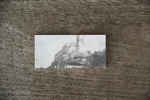 ZAMEK CHOJNIK - płytka ceramiczna 7,2 x 3,4 cm