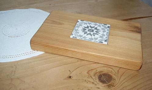 PATCHWORK - podstawka drewniana