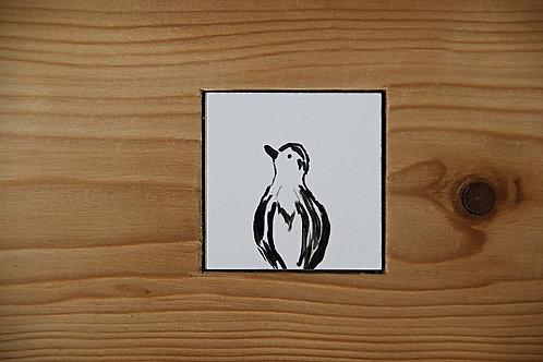 PTAKI - seria (3) - płytka ceramiczna 4,6 x 4,6