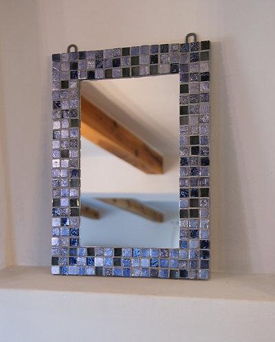 lustro mozaika - RUSTYKALNE - 28 x 38 cm