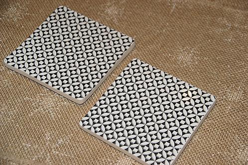 Podkładka ceramiczna pod kubek  / 11 x 11 cm