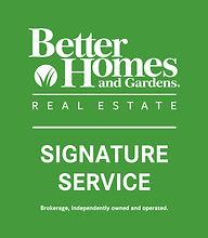 logo BHGRE_SignatureService-Vertical-Whi