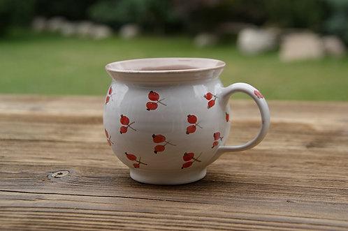 Kubek ceramiczny BIAŁY - 0,25 L