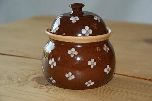 Cukiernica ceramiczna BRĄZOWA - 0,3 L