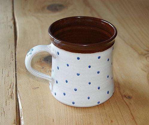 Dzbanek ceramiczny BIAŁY 0,8 L