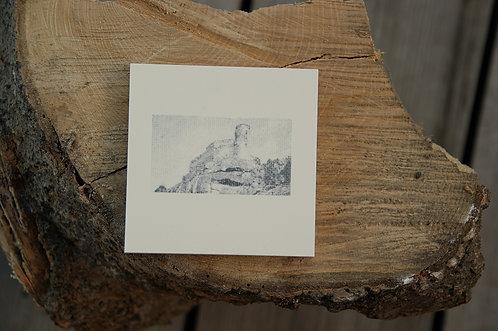 ZAMEK CHOJNIK - płytka ceramiczna 9,7 x 9,7 cm