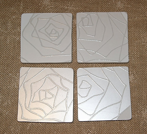 Podkładka ceramiczna pod kubek  / 10,5 x 10,5 cm