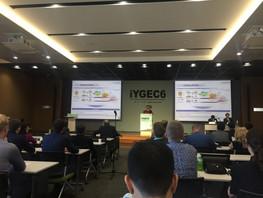 Dr. Chang at the iYGEC6