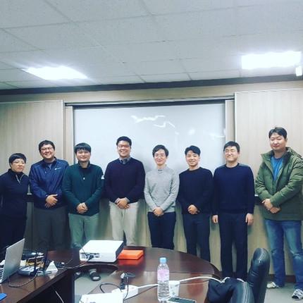 E3GEO's visit to Glucan Ltd. in Jinju, South Korea