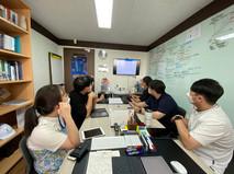 Laboratory meeting