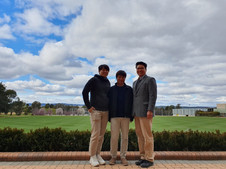 Visitors from Korea