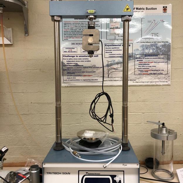 Triaxial test system II & III