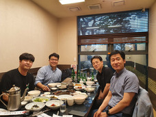 With Ajou Geo alumni