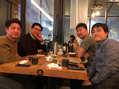 E3GEO gathering in Korea