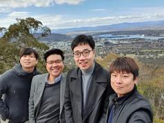 CBSH delegates from Korea