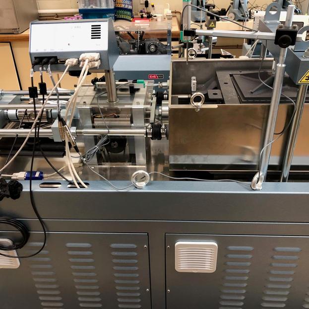 Large shear box testing system