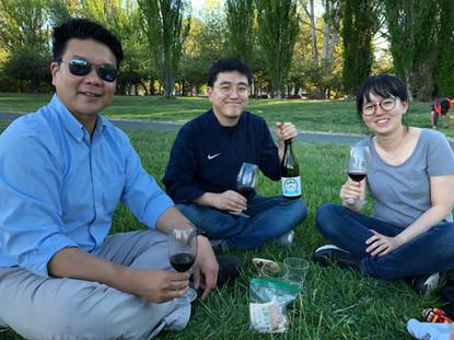 Friday evening picnic