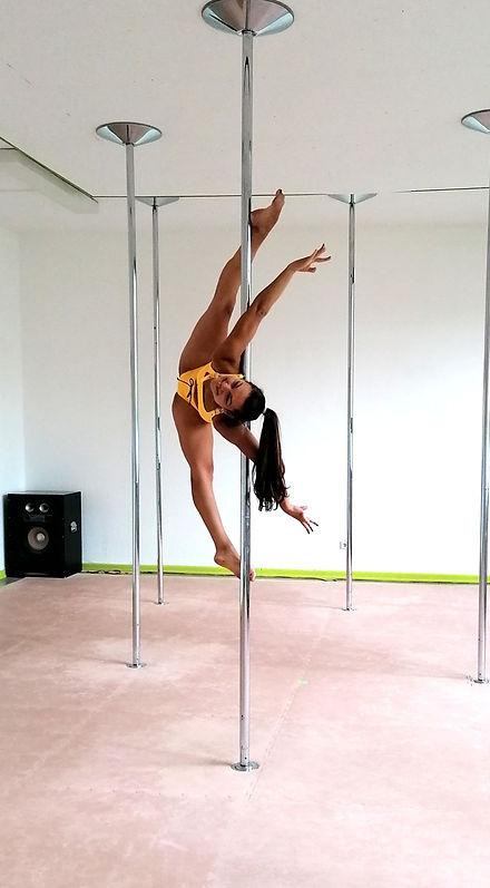 MonoPole Dance Pole Dance Unterricht und Show Auftritte