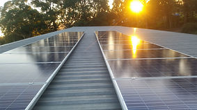 Brisbane solar power install completed by Cablerite Electrical.