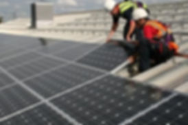 Image of our solar panel cleaning service in Brisbane