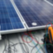 Image of our solar power fault testing services.