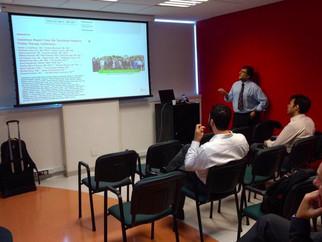 Presença de Victor Bourel no GRAACC: Uma aula de Protonterapia