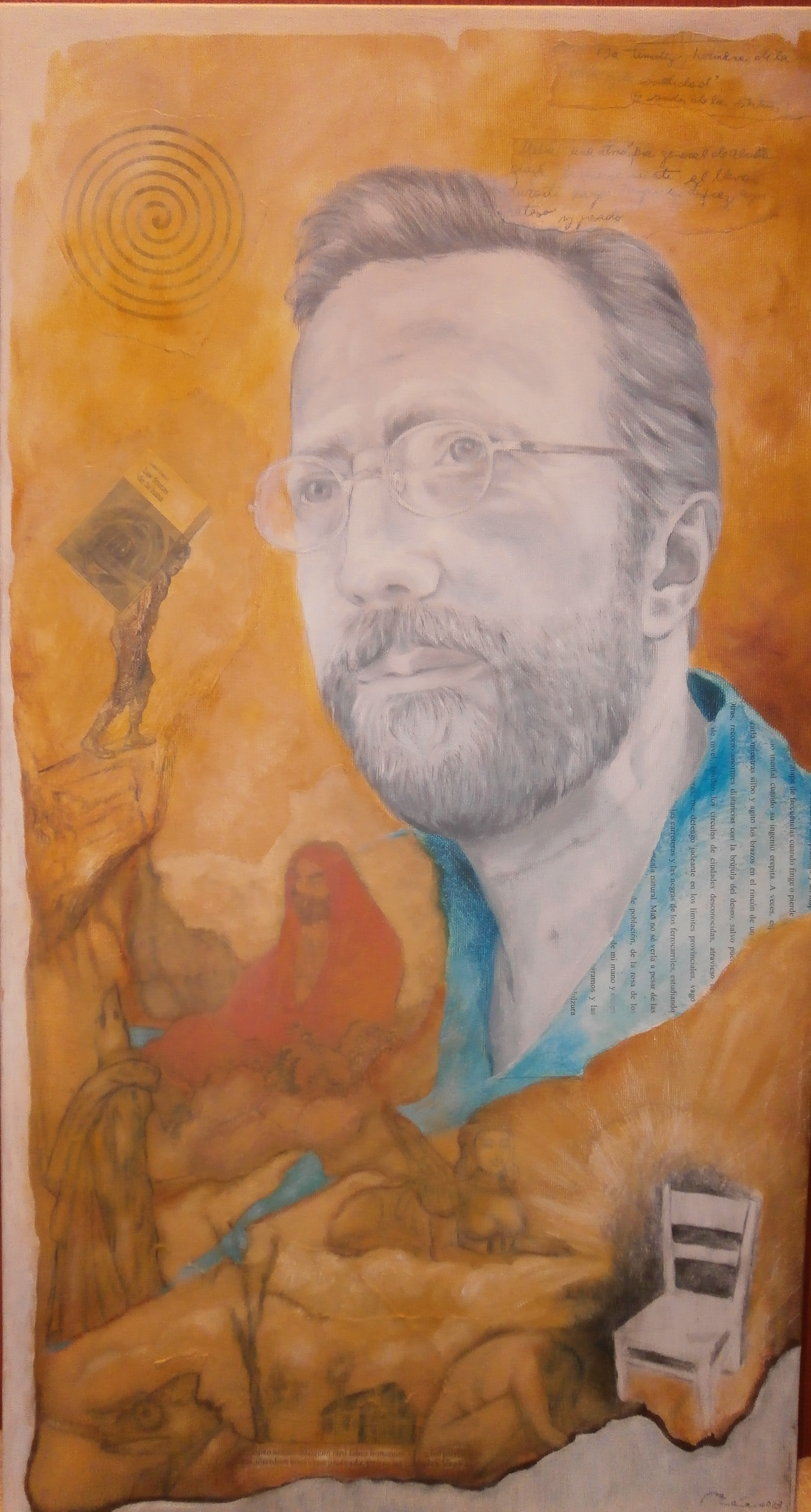 Retrato del escritor A. Olgoso