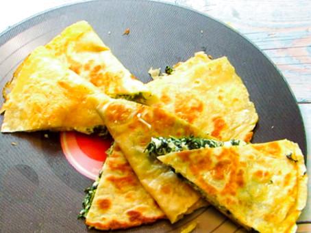 טורטיות במילוי גבינות וירוקים