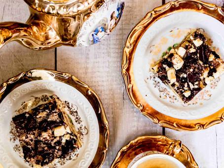 עוגת שמנת ושוקולד עשירה במיוחד