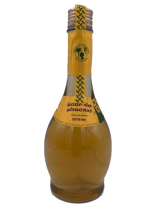 Licor de Abacaxi 375ml - GRUPO DE MULHERES DE SANTANA