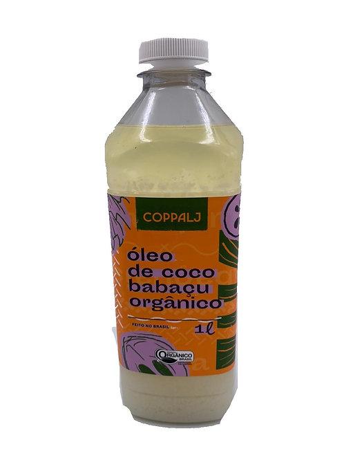 Óleo de Coco Babaçu Orgânico Refinado 1L - COPPALJ