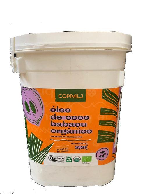 Óleo de Coco Babaçu Orgânico Refinado 3,3L - COPPALJ