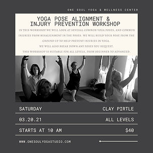 Yoga Pose Alignment & Injury Prevention