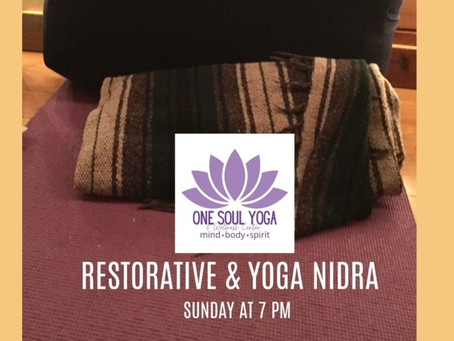 Benefits of Restorative & Yoga Nidra
