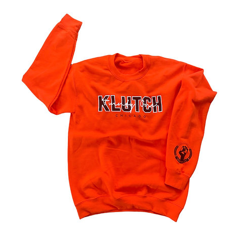 SIGNATURE CREWNECK [ORANGE]