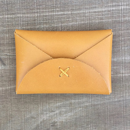 levant ochre card holder