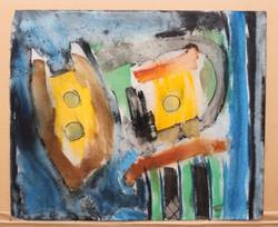 1972, aquarelle, 37,5 x 46